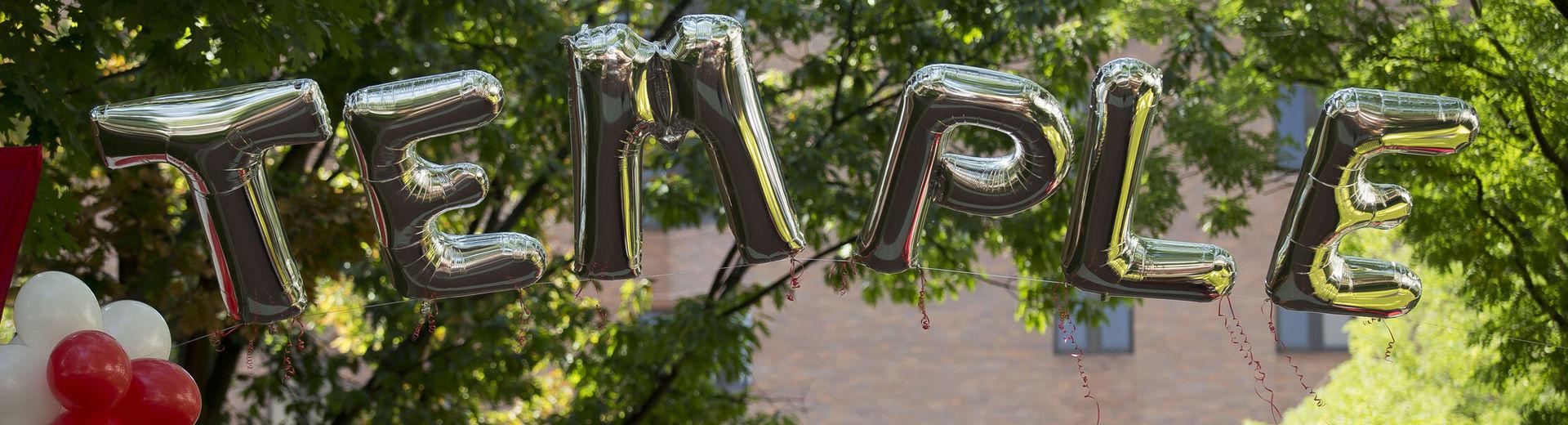 Temple balloons