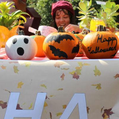 Ambler Student Life Board Pumpkin Decorating Contest