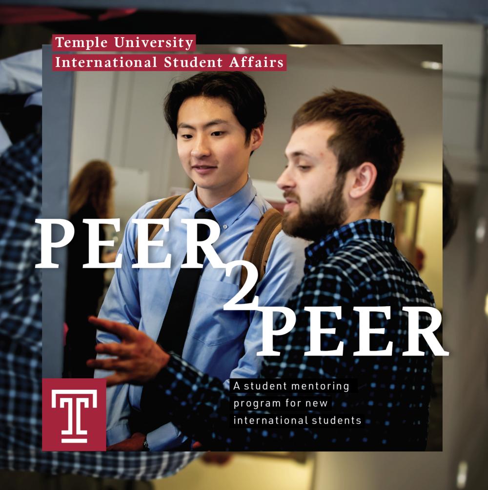 Peer2Peer Student mentoring program